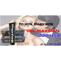 Cách nhận biết Gel Maxman 2018 usa hàng giả thật chuẩn nhất