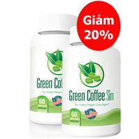 Combo 2 lọ green coffee slim