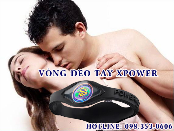 Vong deo tay xpower
